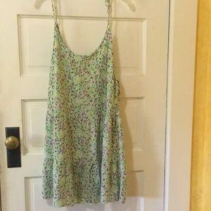 Xhilaration sundress/swimsuit cover, size LG